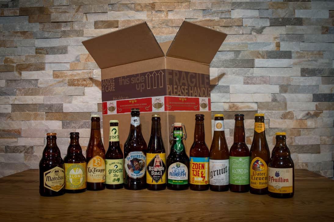 Doosje Blond Bier